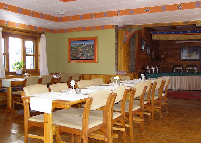 Dining room, Everest Summit Lodge, Monjo