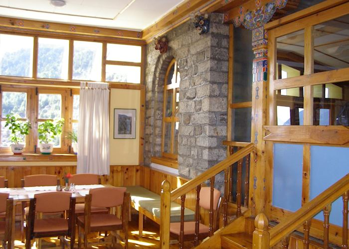 Dining Room, Everest Summit Lodge, Tashinga