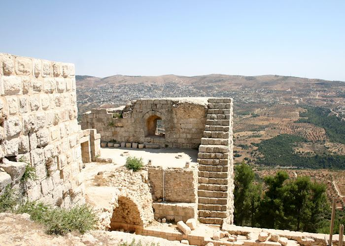 View from Ajloun Castle