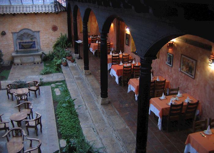 Hotel Casa Vieja atrium restaurant, San Cristobal de las Casas