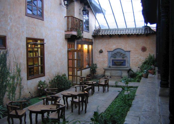 Casa Vieja atrium, San Cristobal de las Casas