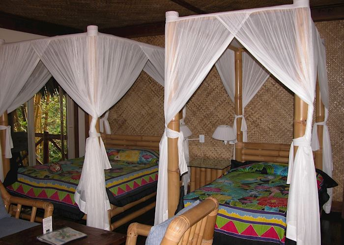 Treehouse room, Coconuts Beach Club, Upolu