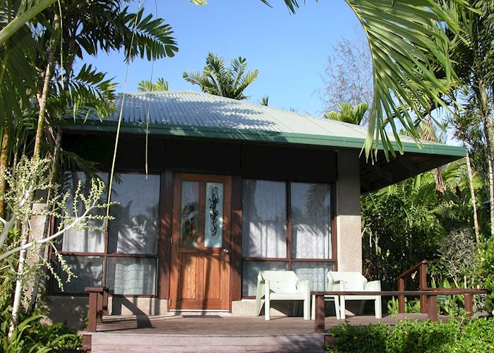 Garden view fale, Sinalei Reef Resort, Upolu
