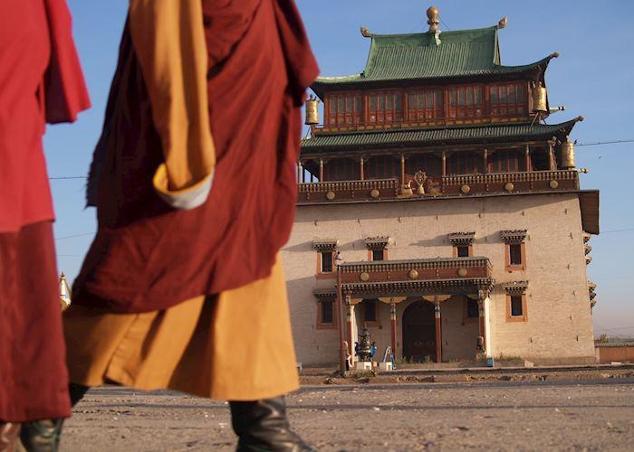 Gandan Monastery, Ulaan Baatar, Mongolia