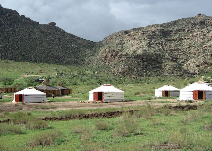 Khorgo Ger Camp, White Lake