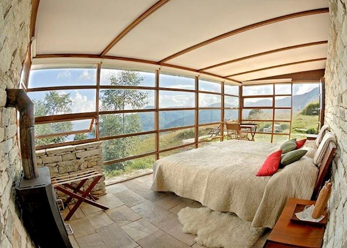 Bedroom at 360° Leti, Almora