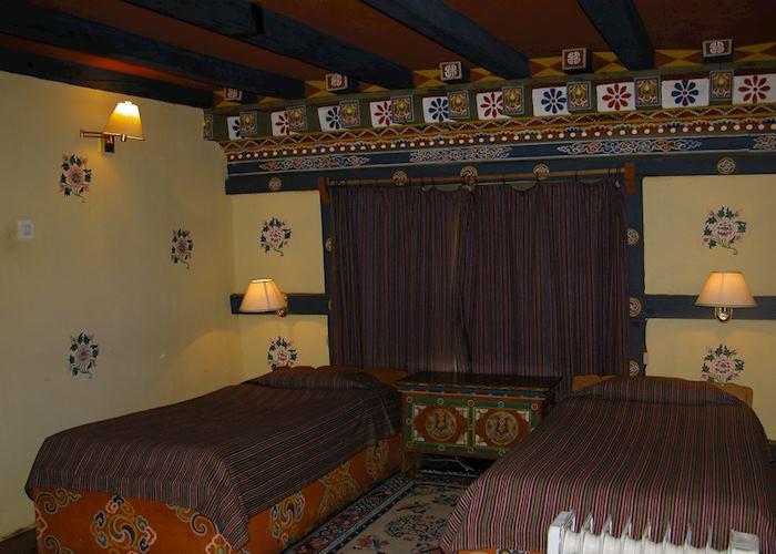 Standard room, Gangtey Palace, Paro