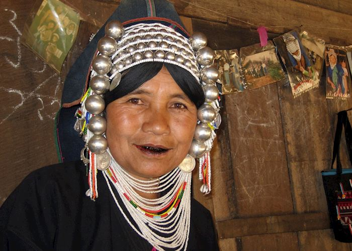 Aka hill-tribe lady, Kengtung