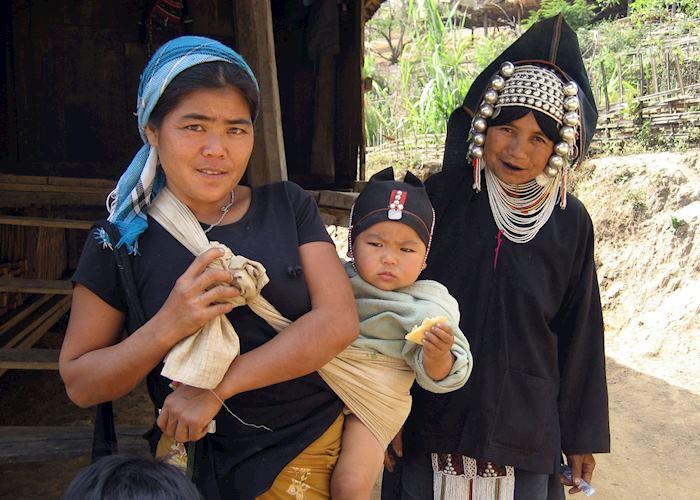 Aka hill-tribe village, Kengtung