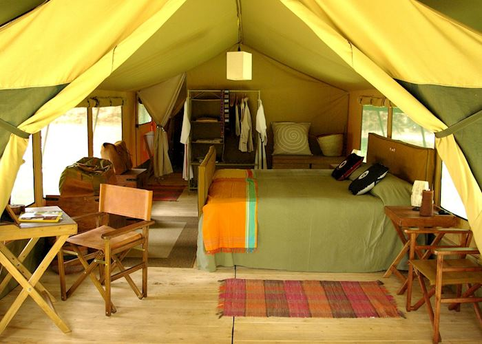 Luxury tent, Lemala Ngorongoro Camp
