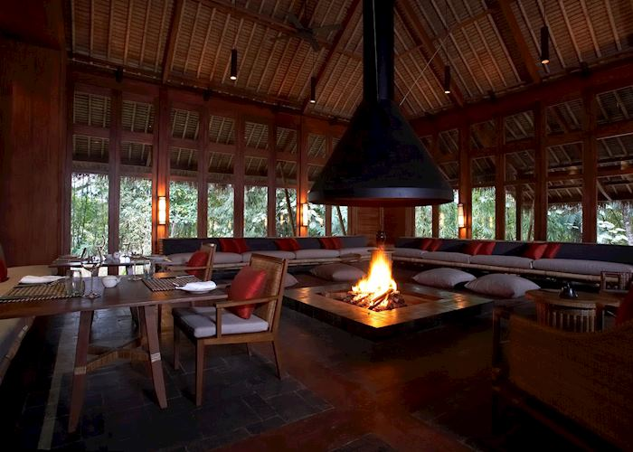 Restaurant at the Malikha Lodge, Putao