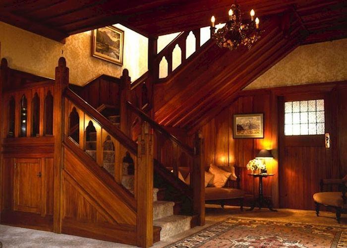 The foyer at Timara Lodge, Blenheim & The Winelands