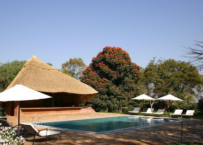 Pool at Ngorongoro Farmhouse, Karatu