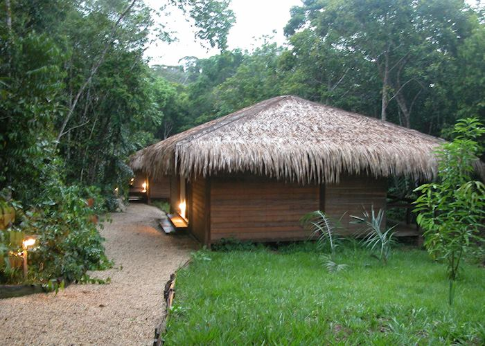 Cabins at Anavilhanas Lodge