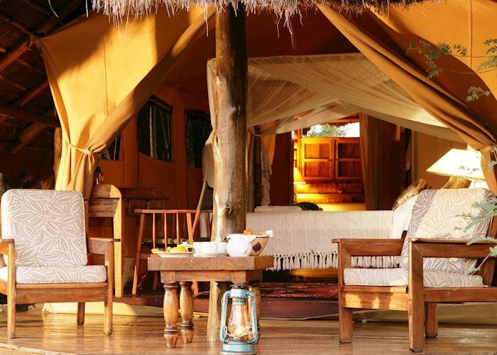 Luxury Tent, Semliki Safari Lodge, Semliki Wildlife Reserve