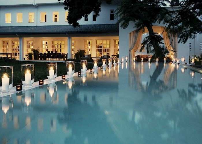 Swimming pool, Oyster Bay Hotel