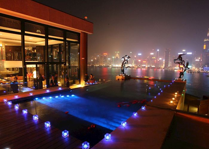 Infinity pool, Presidential Suite, Intercontinental Hotel