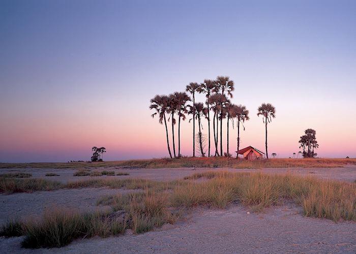 San Camp, Makgadikgadi Pans