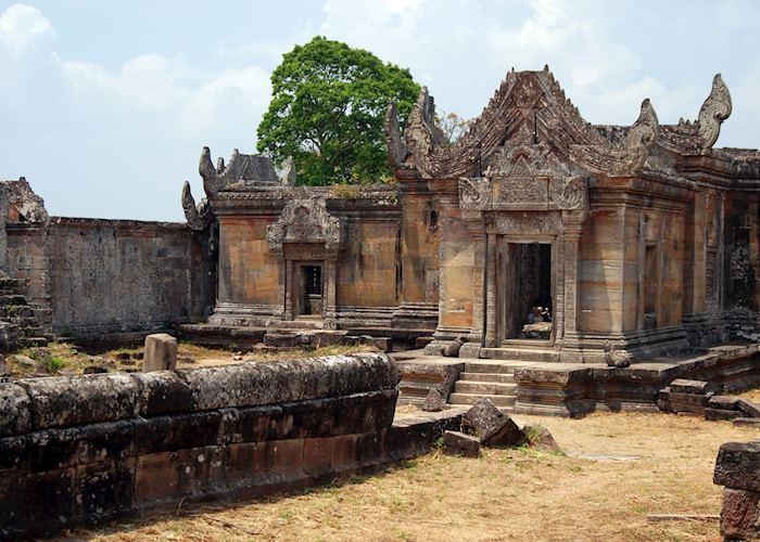The central sanctuary at Preah Vihear