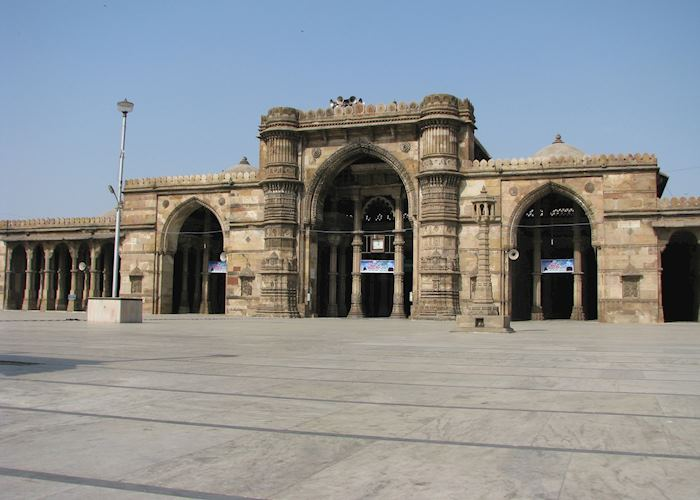 The Jama Masjid at Ahmedabad