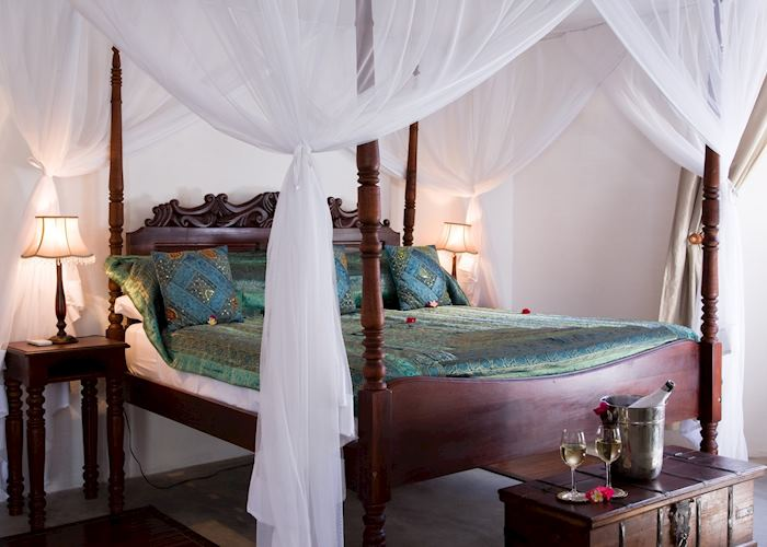 A room at Ibo Island Lodge