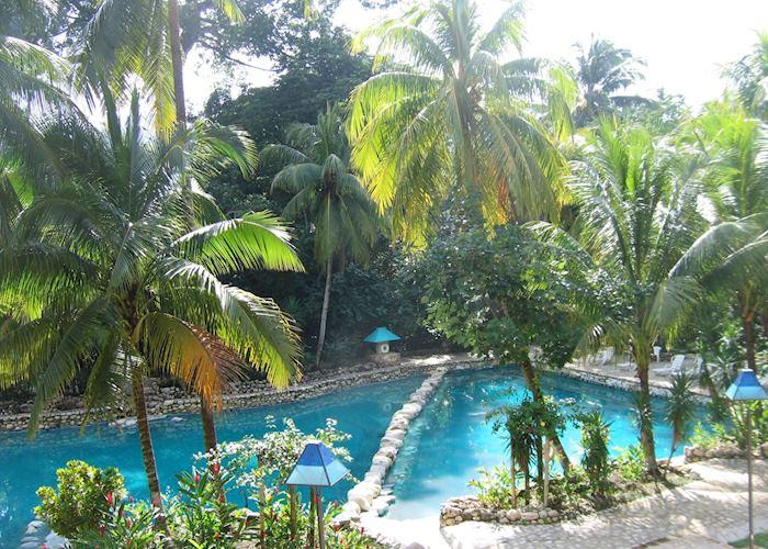 Pool, Hotel Chan Kah, Palenque