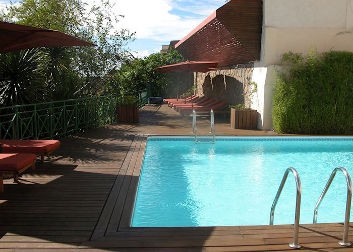 Pool at The Royal Palissandre, Antananarivo