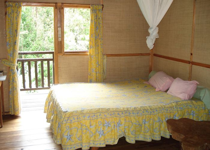 A-frame bungalow, Feon'ny Ala, Andasibe-Mantadia National Park
