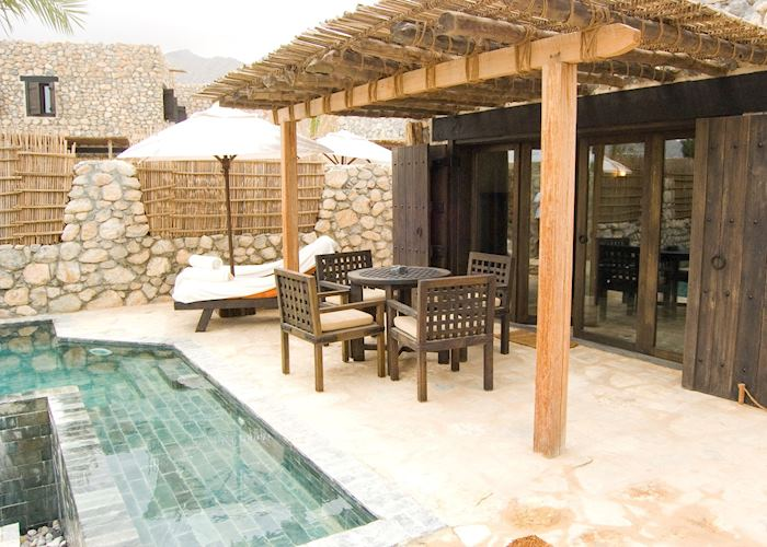 Pool Villa, Six Senses Hideaway at Zighy Bay, Musandam