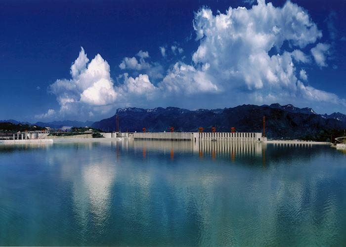 Edge of the Three Gorges Dam