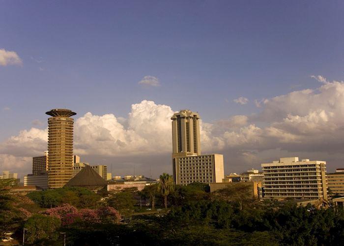 Nairobi business district