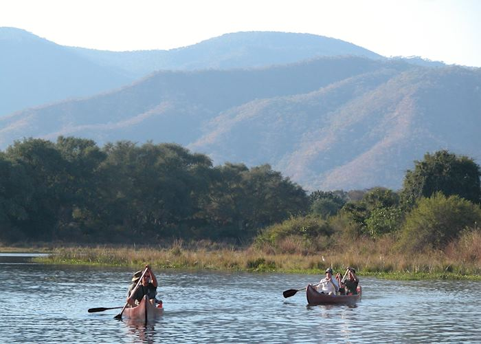 Canoeing in the Lower Zambezi