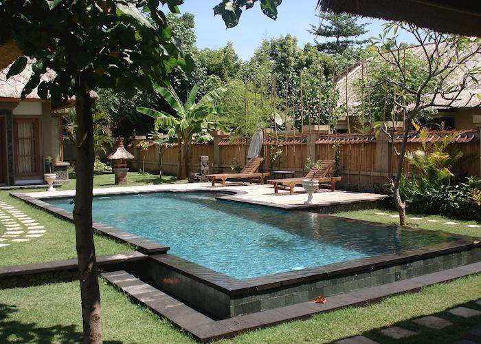 Two bedroom mountain view pool villa, Taman Sari Cottages, Pemuteran