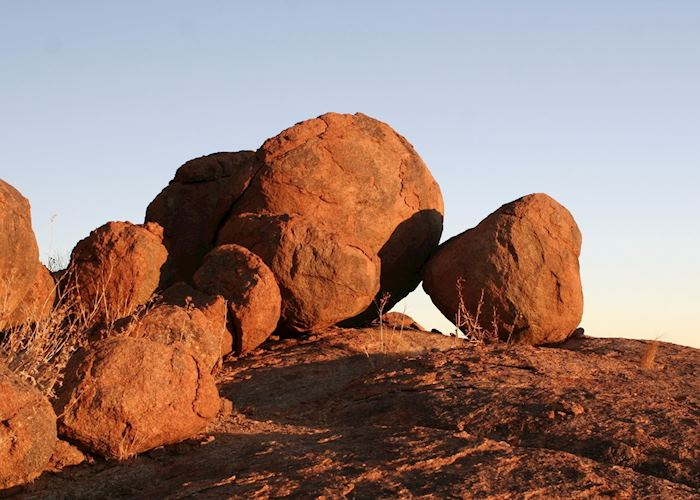 Boulders at the Canyon