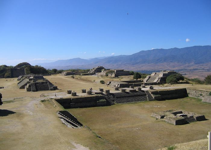 Zapotec ruins at Monte Alban, Oaxaca