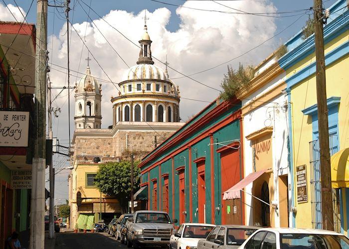 The old town of Tlaquepaque, Guadalajara