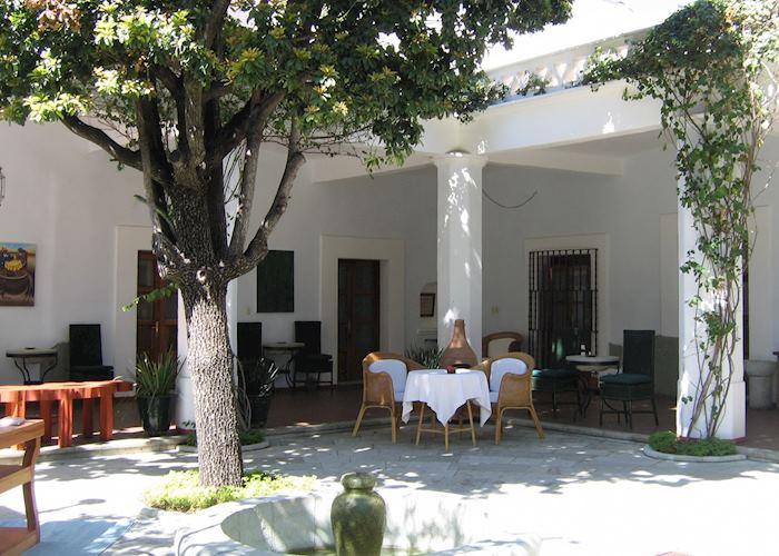 Courtyard, Casa Oaxaca, Oaxaca