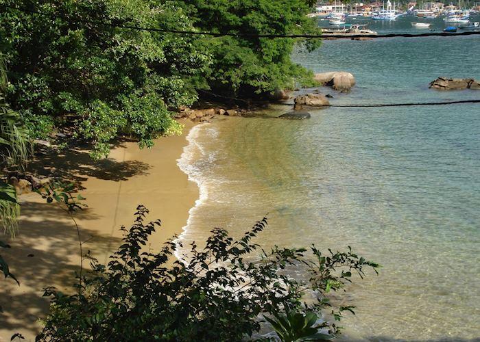 The beach at Pousada Sagu Mini Resort, Ilha Grande