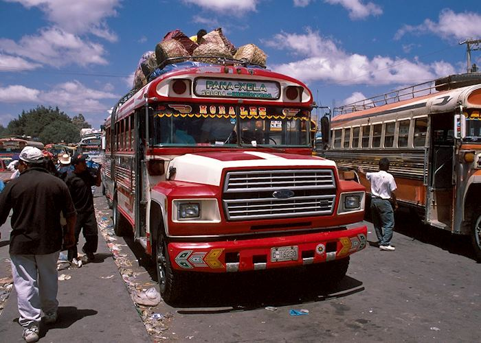 Chicken bus, Quetzaltenango