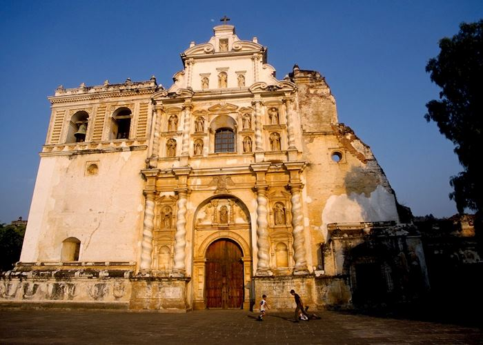 Antigua cathedral, Guatemala