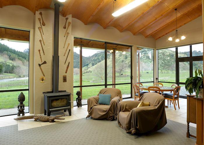 Knapdale Eco Lodge, Gisborne