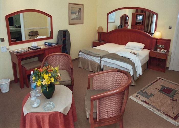 A room at the Hansa Hotel