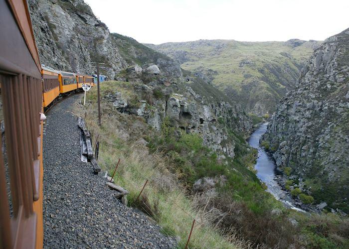 The Taieri Gorge Railway, Dunedin