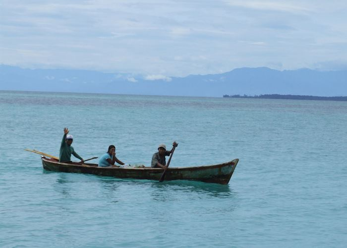 Ngobe-Bugle fisherman, Bocas del Toro