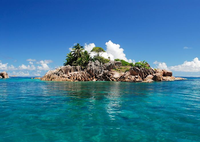 St Pierre Island off the coast of Praslin