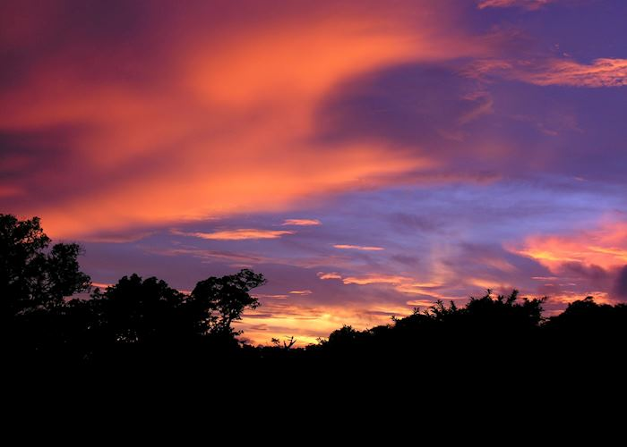Sunset over Monteverde Cloud Forest, Costa Rica