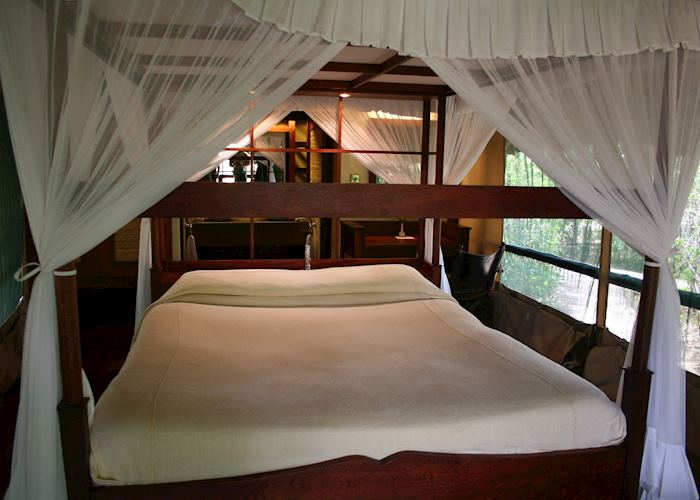 New luxury tent, Samburu Intrepids