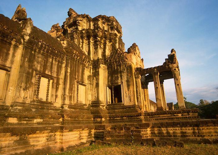 Temple ruins at Angkor Wat, Siem Reap