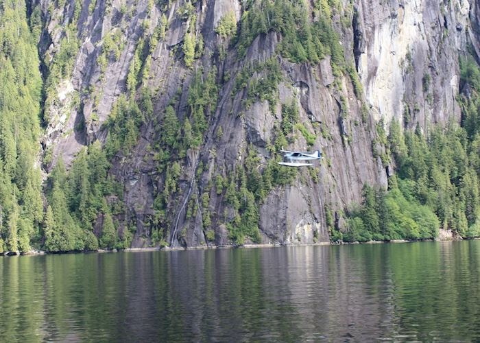 Floatplane in the Misty Fjords