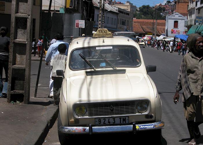 Local taxi, Antananarivo, Madagascar